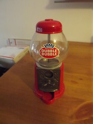 Classic Dubble Bubble GUMBALL Coin Bank Candy Vending Machine Vintage STYLE