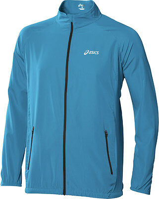 Asics Essentials Woven Mens Running Jacket - Blue
