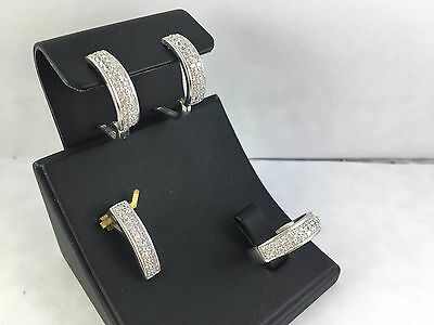 Turkish Made Jewelry 925 Sterling Silver / White Zircon Set Ring Sz 8