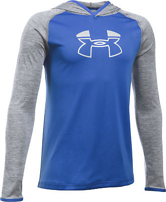 Under Armour Tech Block Junior Hoody - Blue