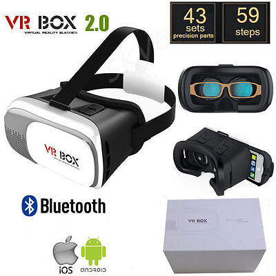 2017 VR Headset VR BOX Virtual Reality Glasses 3D for Samsung Iphone 5 6s Plus