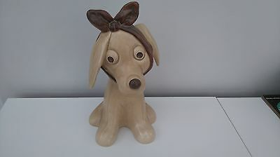 Vintage 1950s LARGE 12 INCH SYLVAC TOOTHACHE DOG No. 2451
