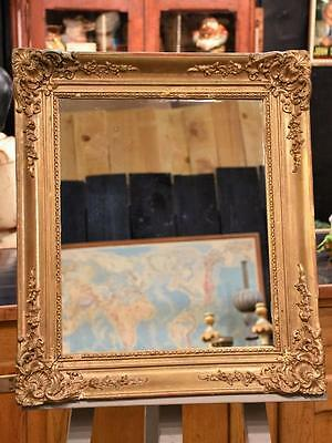 Antique French giltwood mirror – early 19th century