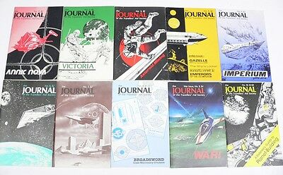 ISSUE #1 -10 Journal of the Travellers Aid Society Traveller GDW RPG 10 issues