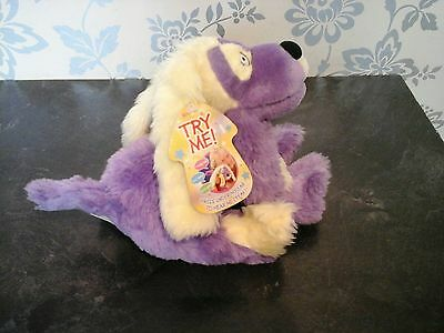 Tweenies 'Izzles' talking dog soft toy with tags *VGC*