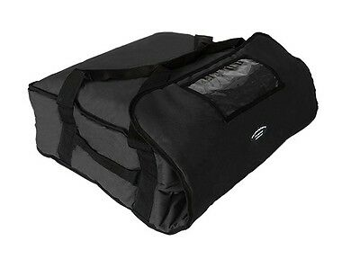 """Pizza Delivery Hot Bag (Holds up to Four 16"""" or Three 18"""" Pizzas) Black"""
