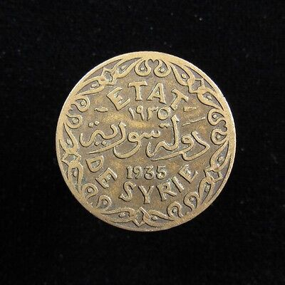 Syria French Protectorate 5 Piastres 1935
