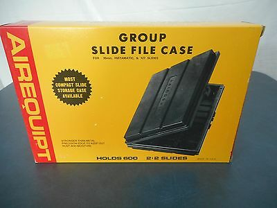Airequipt Slide File Case for 35mm, 127, Instamatic   Made in USA