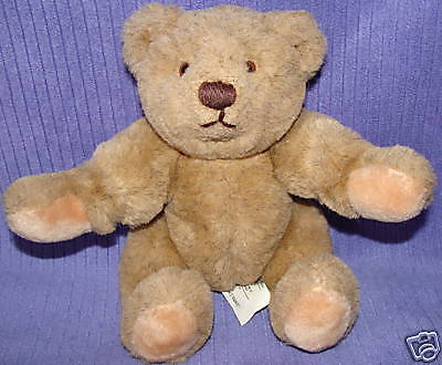 """Gund Fully Jointed 11"""" Brown Bear 1982 Made In Korea"""