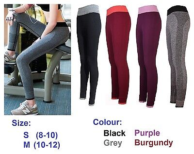 Ladies Gym Running Pants Yoga Sports Exercise Leggings Jogging Fitness Trousers