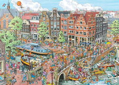 Puzzle Ravensburger 1000 Teile - Amsterdam (51864)