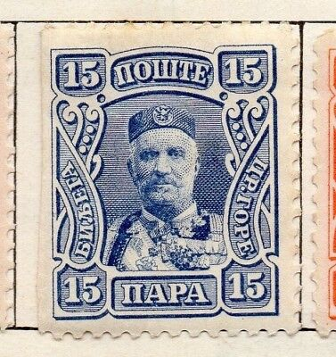Montenegro 1907 Early Issue Fine Used 15p. 128217