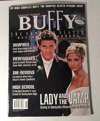 Buffy the Vampire Slayer Official Yearbook Cinescape Volume 5 Number 7 Magazine