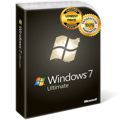 LICENZA/LICENSE MICROSOFT WINDOWS 7 Ultimate 32/64 BIT FULL VERSION ESD KEY