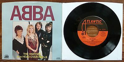 ABBA - The Visitors / Head Over Heels - USA - Atlantic - RARE picture sleeve