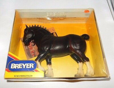 Nos ~ Breyer Traditional Model Horse #738 Clydesdale Stallion