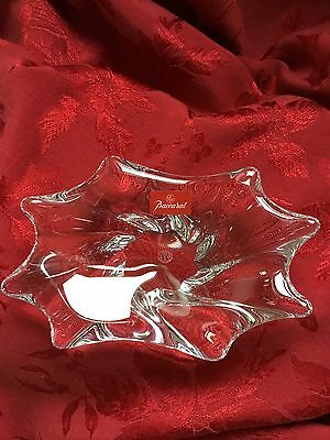 NEW FLAWLESS Exceptional BACCARAT Glass Crystal Cadix Mints Nuts Candy BOWL DISH