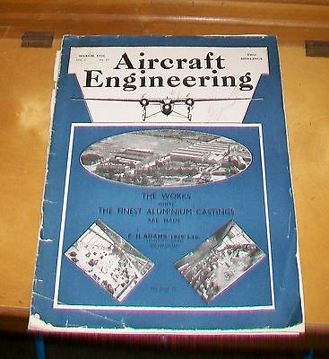 Aircraft Engineering March 1931. Clerget Diesel Engine C.i. Aero Engines Ford