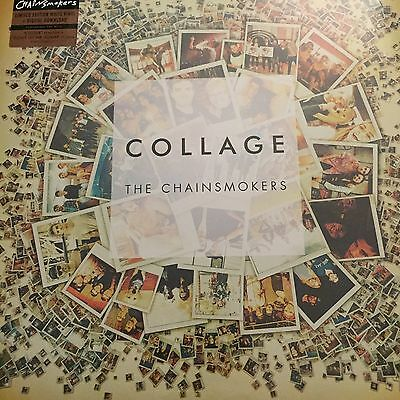 The Chainsmokers - Collage Ep  - New White Vinyl Lp + Mp3 Download - New /sealed
