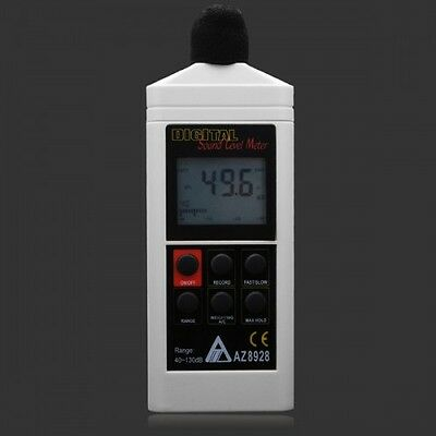 AZ8928 Digital Auto Ranging Sound Level Meter Large LCD Screen Decibel Meter