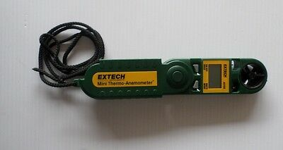 Extech Mini Thermo Anemometer  + Humidity Meter # 45158. FREE SHIPPING !