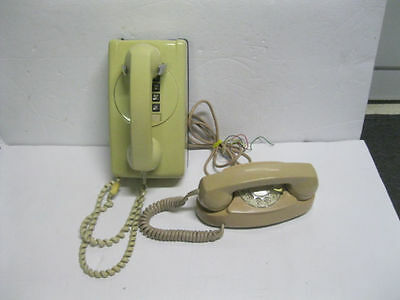 Lot of 2 Northern Electric telephones Princess Phone Table and Wall Telehone