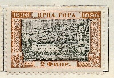 Montenegro 1896 Early Issue Fine Mint Hinged 2fl. 128353