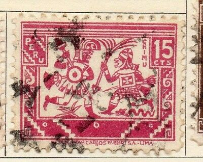 Peru 1932 Early Issue Fine Used 15c. 128467