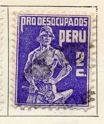 Peru 1932 Early Issue Fine Used 2c. 128470