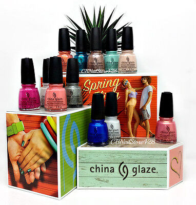 China Glaze Nail Lacquer - SPRING FLING Collection 2017 - Choose Any Color