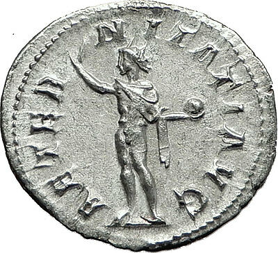 GORDIAN III 240AD Rome Authentic Genuine Ancient Silver Roman Coin SOL i59147