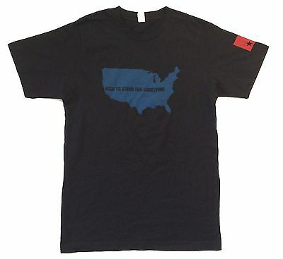 Nine Inch Nails Used To Stand For Something Usa Map Blk T-Shirt Small New Soft