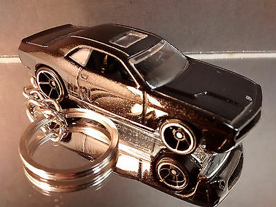 Black 2008 Dodge Challenger SRT8 Key Chain Ring Fob Fast Furious 6