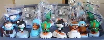 Collectible Mcdonalds 2010 Winter Olympics Mascots Complete Set New & Sealed!