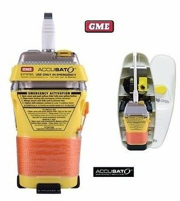 GME MT403FG 406MHz GPS EPIRB WITH FLOAT FREE AUTO RELEASE (MODEL ABOVE MT600G)