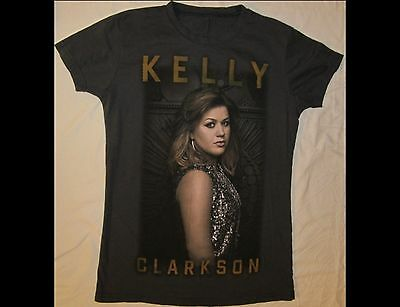 KELLY CLARKSON Adult Size Gray T-Shirt