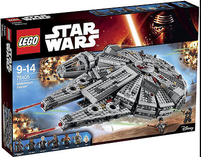 LEGO Star Wars 75105 Millenium Falcon  - Falcon ONLY -BRAND NEW