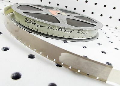 16mm Film: Village Without Words 1950 Kurland 10m 16s B/W Sound with VIDEO eval