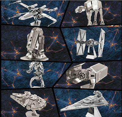 3D Puzzle toys Star Trek Star Wars Puzzle Metal Construction Laser Puzzle Models