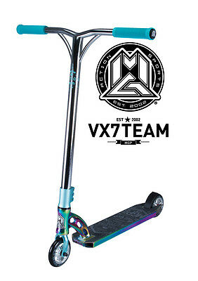 Pre-Order New Vx7 Madd Gear Mgp Team Scooter Neochrome - Free Delivery