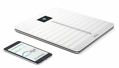 Withings Body Cardio - Heart Health and Body Composition Wi-Fi Scale, White NEW