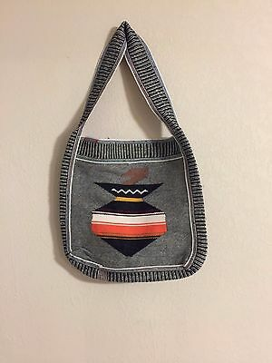 South American Weaving--Ecuador--SATCHEL-Purchased in the 70's & 80's-BUY IT NOW