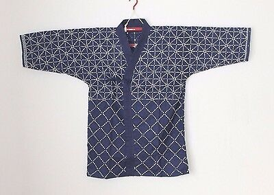 """Japanese Martial Arts Embroidered Kendo Gi """" Navy"""" Size 5"""