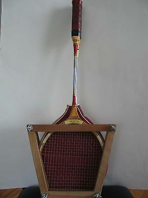 1950s Two Vintage Badminton Rackets in Frame