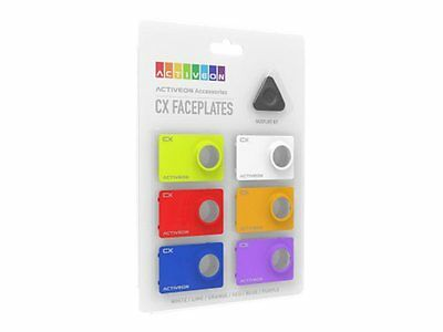 ACTIVEON CX Front Color Kit Faceplate (pack of 6) CA08FBS Change your model colo