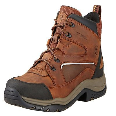 NEW Ariat Mens Brown Leather Telluride II H20 Hiking Horse Riding Lace Up Boots