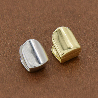 1 Pc Hip Hop Gold Plated Single Top Tooth Solid Grills Grill Cap Silicone Mold