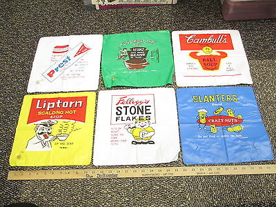WACKY PACKAGES 1970s spoof food product satire inflatable pillow (set of 6)