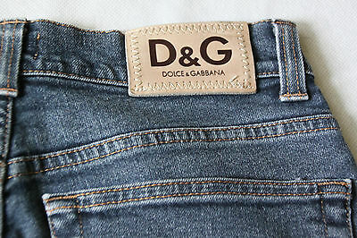 Dolce & Gabanna Junior D&G Boys Grey Stretch Jeans sz 29 43