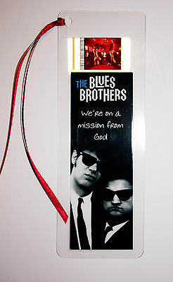 Film Cell Bookmark 35mm - The Blues Brothers Memorabilia Gift
